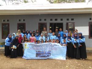 Mahasiswa Unida Bogor Buka Perpustakaan Sampah di Muarasari Bogor Selatan