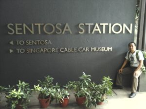 Sentosa Statiun Singapore